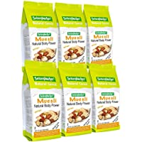 Seitenbacher Muesli Cereal #1 – Natural Body Power – Apple & Hazelnuts, 16 Oz (Pack Of 6)