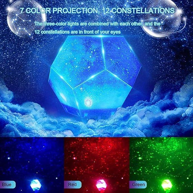 Star Sky Light Proyector lámpara Starry Bedroom romántico ...