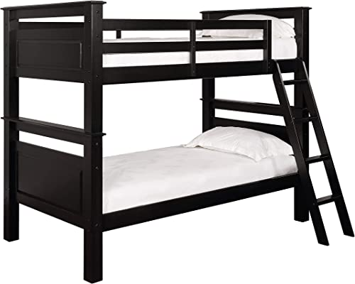 Powell Black Bunk Bed