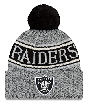 pretty nice f9c93 7d00a New Era NFL Oakland Raiders 2018 Sideline Reverse Sport Knit