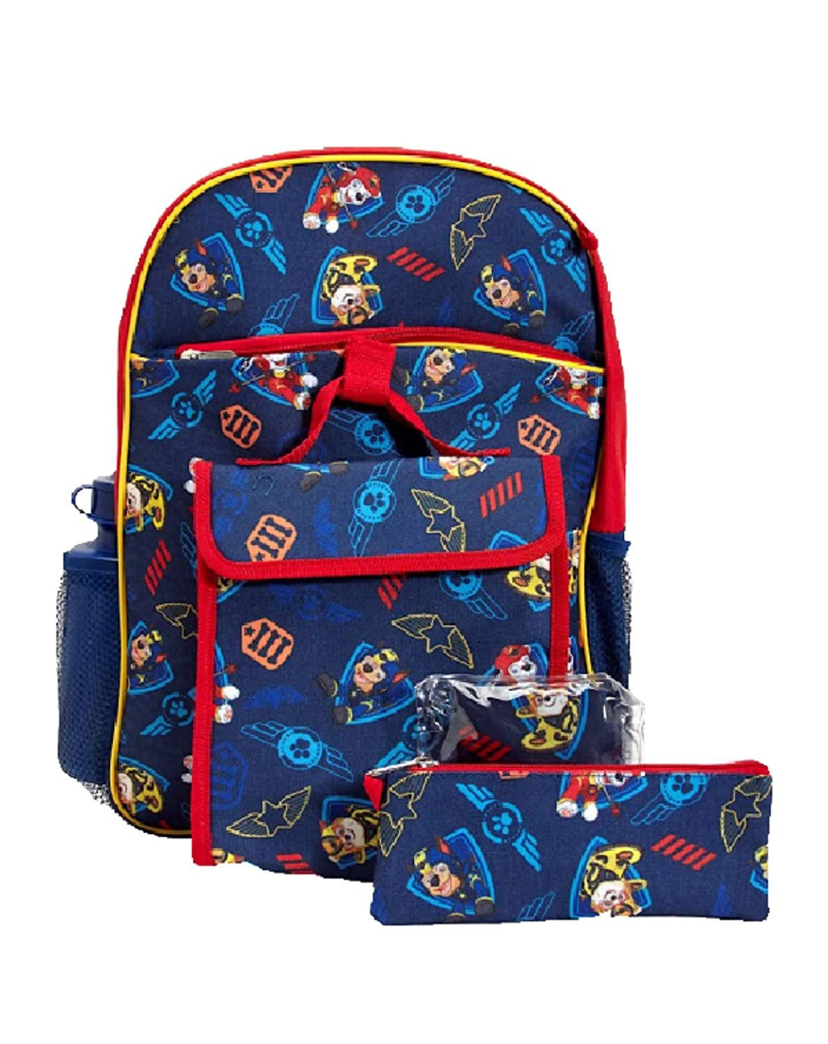 a73d25f2c0 Amazon.com  Nickelodeon Paw Patrol 5-Piece Backpack Set  Gifts N Deals  Boutique
