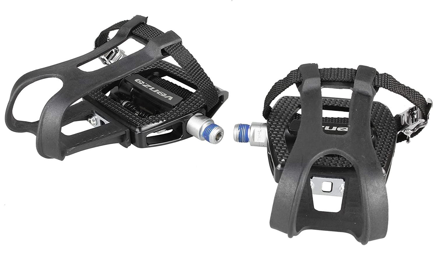 """Venzo Fitness 9//16/"""" Thread Shimano Exercise SPD Compatible Spin Bike Pedals"""