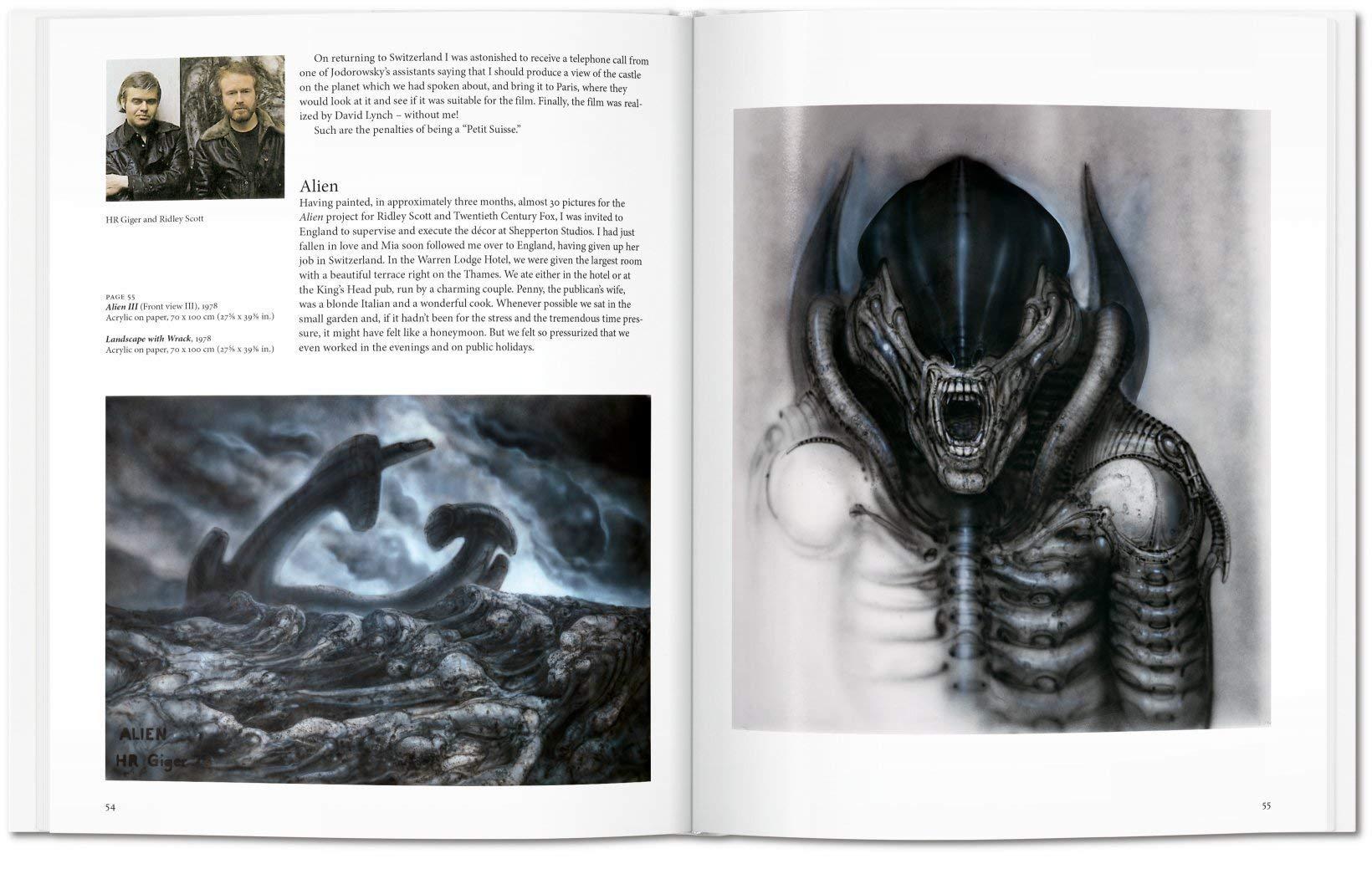 Giger (Basic Art 2 0): Amazon co uk: H R Giger: 9783836534208: Books