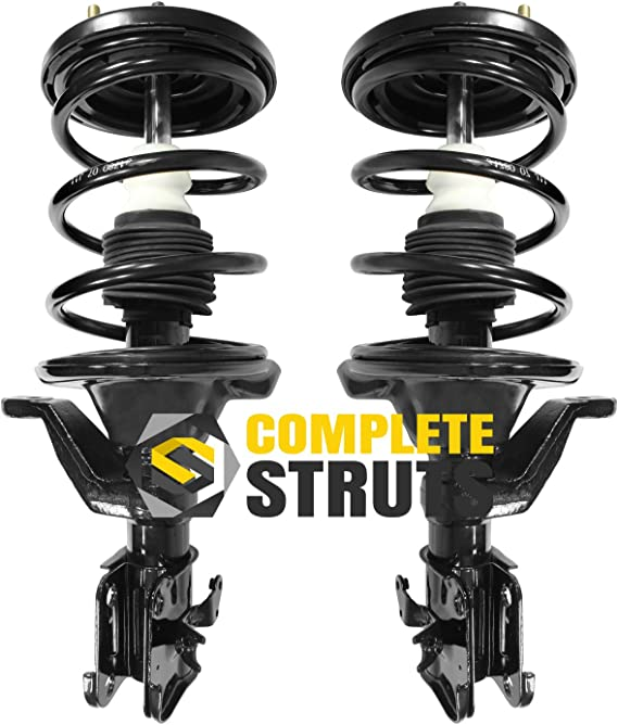 Front Quick Complete Struts Coil Spring Assemblies Compatible With 2001 2005 Honda Civic 1 7l Assembly Pair Automotive Amazon Com