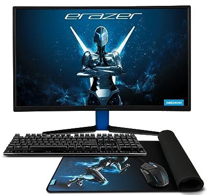 MEDION Erazer Gaming Ratón x81044, Gaming Mecánica Teclado x81699, Gaming XXL Mousepad x89048,