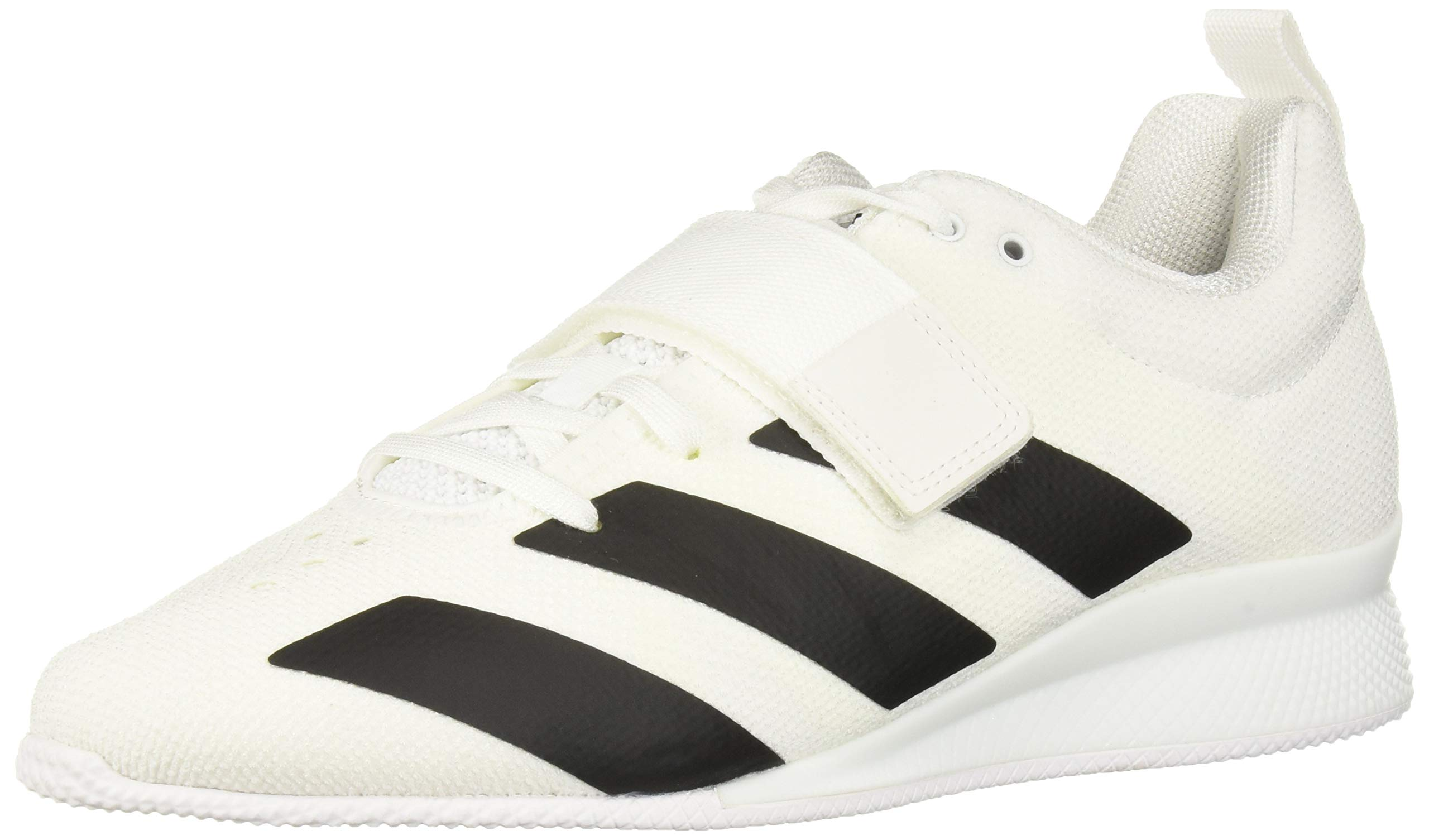 adidas Men's Adipower Weightlifting II Cross Trainer, Black/White, 5.5 M US by adidas