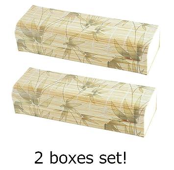 2 Lunch Boxen Set Yamako Japanischen Stil Bambus Lunchbox Mit