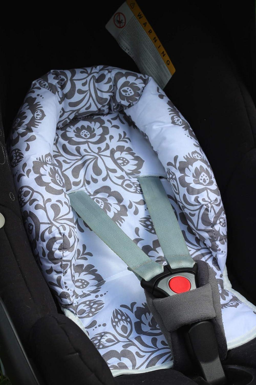 Black White Stars // Protector de cuerpo para coche Sweet Baby ** SOFTY DESIGN ** Reductor para silla de beb/é Maxi Cosi//R/ömer etc 0-6 meses