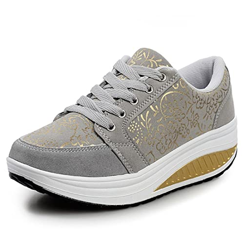 YUHUAWYH Las Mujeres Zapatos de Deporte Ocasional que Recorre Adolescents Zapatos Antideslizantes: Amazon.es: Zapatos y complementos