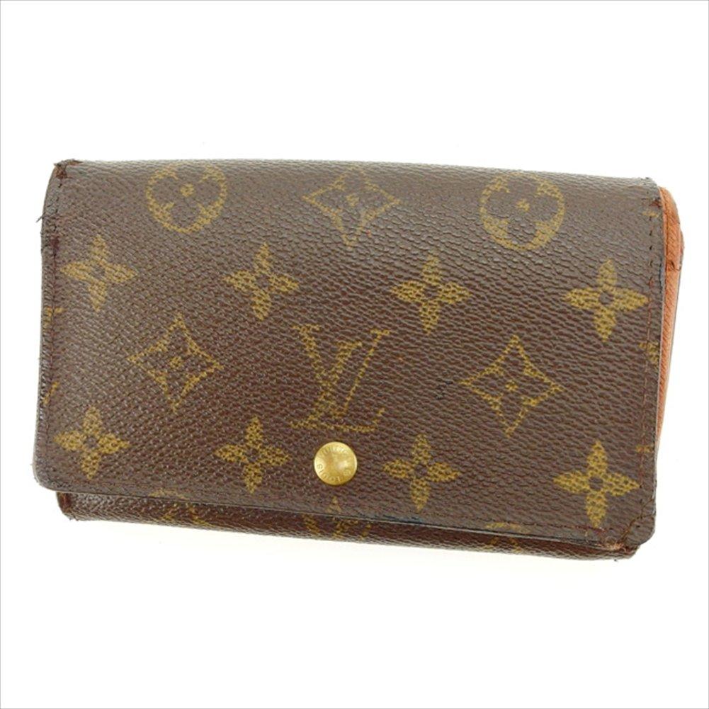 ルイヴィトン Louis Vuitton L字ファスナー財布 二つ折り ユニセックス ポルトモネビエトレゾール M61730 モノグラム 中古 B829   B01LXA313K