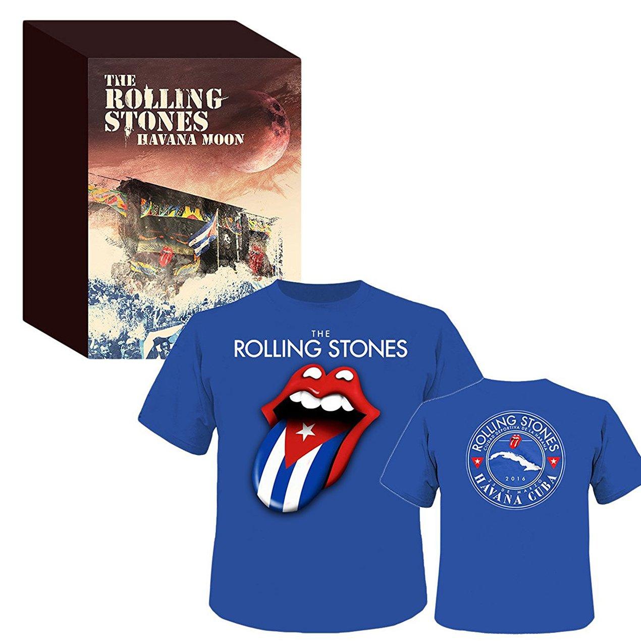 ローリング・ストーンズ / ハバナ・ムーン ストーンズ・ライヴ・イン・キューバ2016(完全生産限定Blu-ray+2枚組CD+Tシャツ[Lサイズのみ])