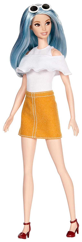 Barbie - Fashionista Falda Mostaza (Mattel DYY99): Amazon.es: Juguetes y juegos