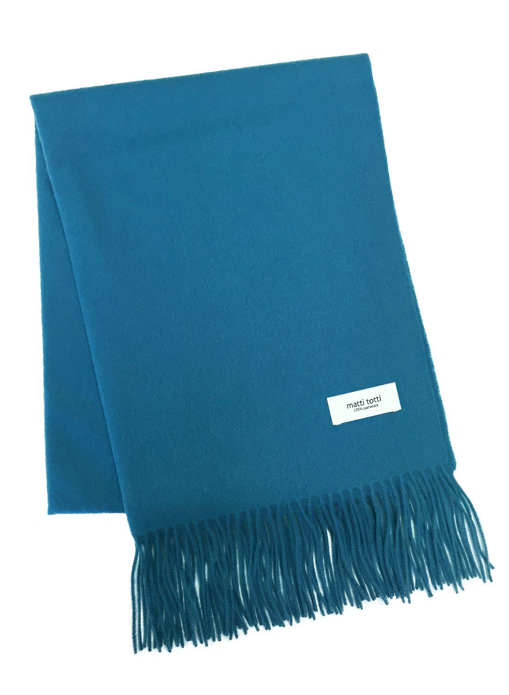 T Blue 100% Cashmere Shawl Stole Men Gift Scarves Wrap Blanket A0924B1-9
