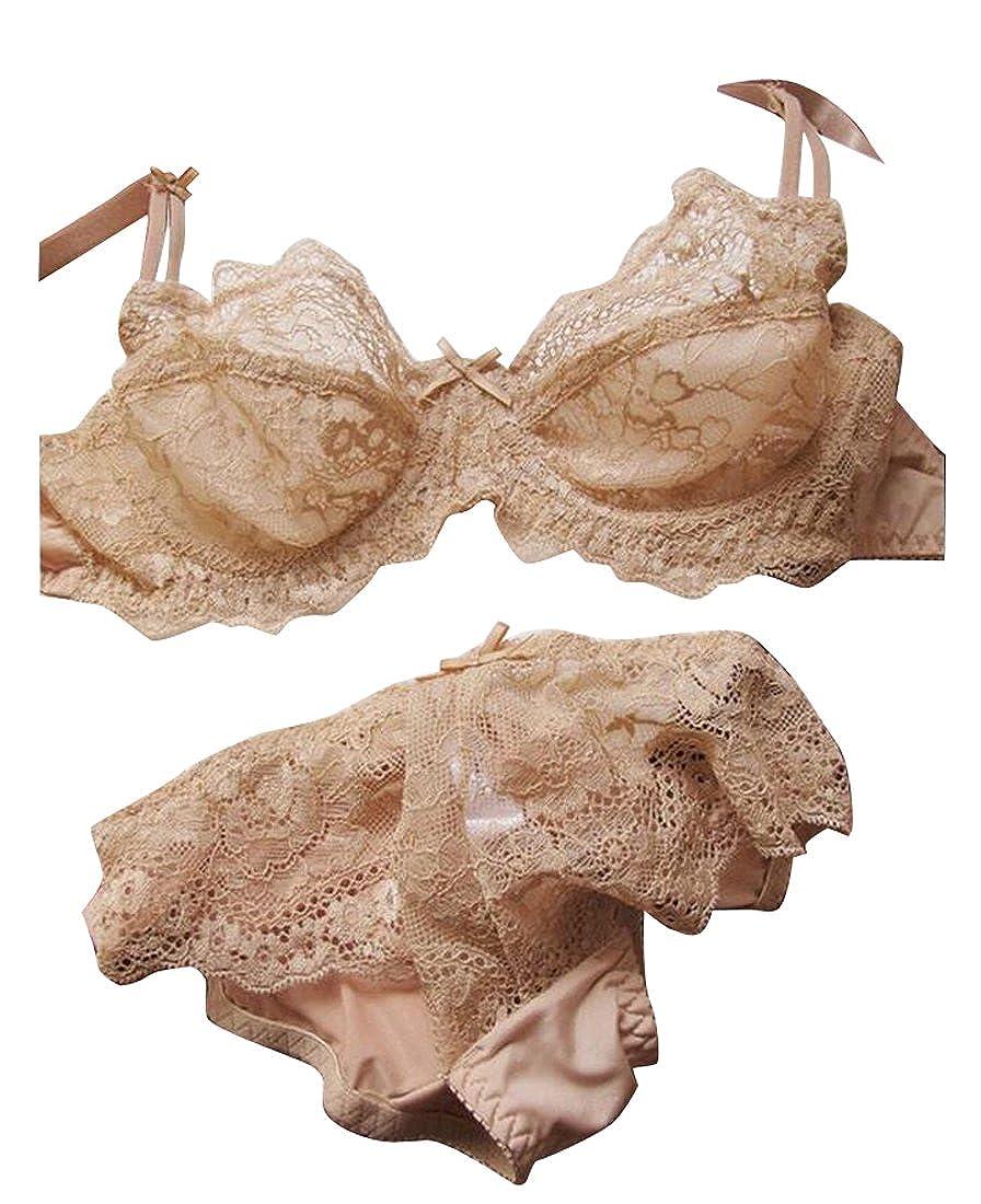 Nanquan-women clothes BRA レディース B075Z4VKBW  肌色 80B