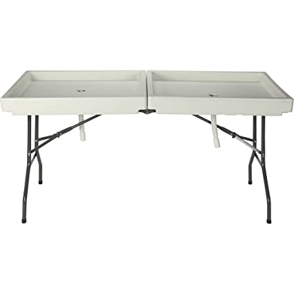 amazon com kotulas 71in x 31in foldable ice party table garden