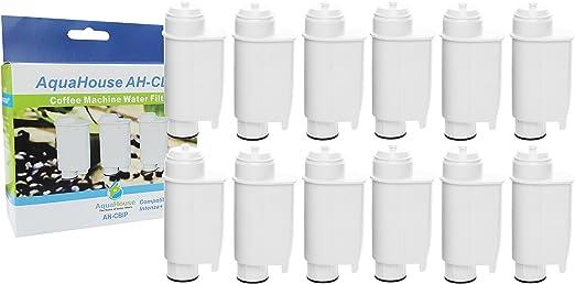 12x AH-CBIP Compatible para Philips Saeco CA6702/00 Brita Intenza+ Cartucho de filtro de agua para Philips, Saeco, Lavazza, Gaggia Cafeteras: Amazon.es: Hogar
