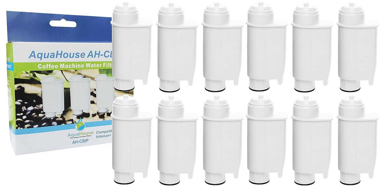 12x CBIP Compatible filter for Lavazza Coffee Machine Brita Intenza+ Philips Saeco CA6702/00 Filter Cartridge AquaHouse