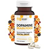 Natural Stacks Dopamine Brain Food Supplement - Boost Your Mental Drive - Formulated to Feel Alert & Engaged - L-Phenylalanin