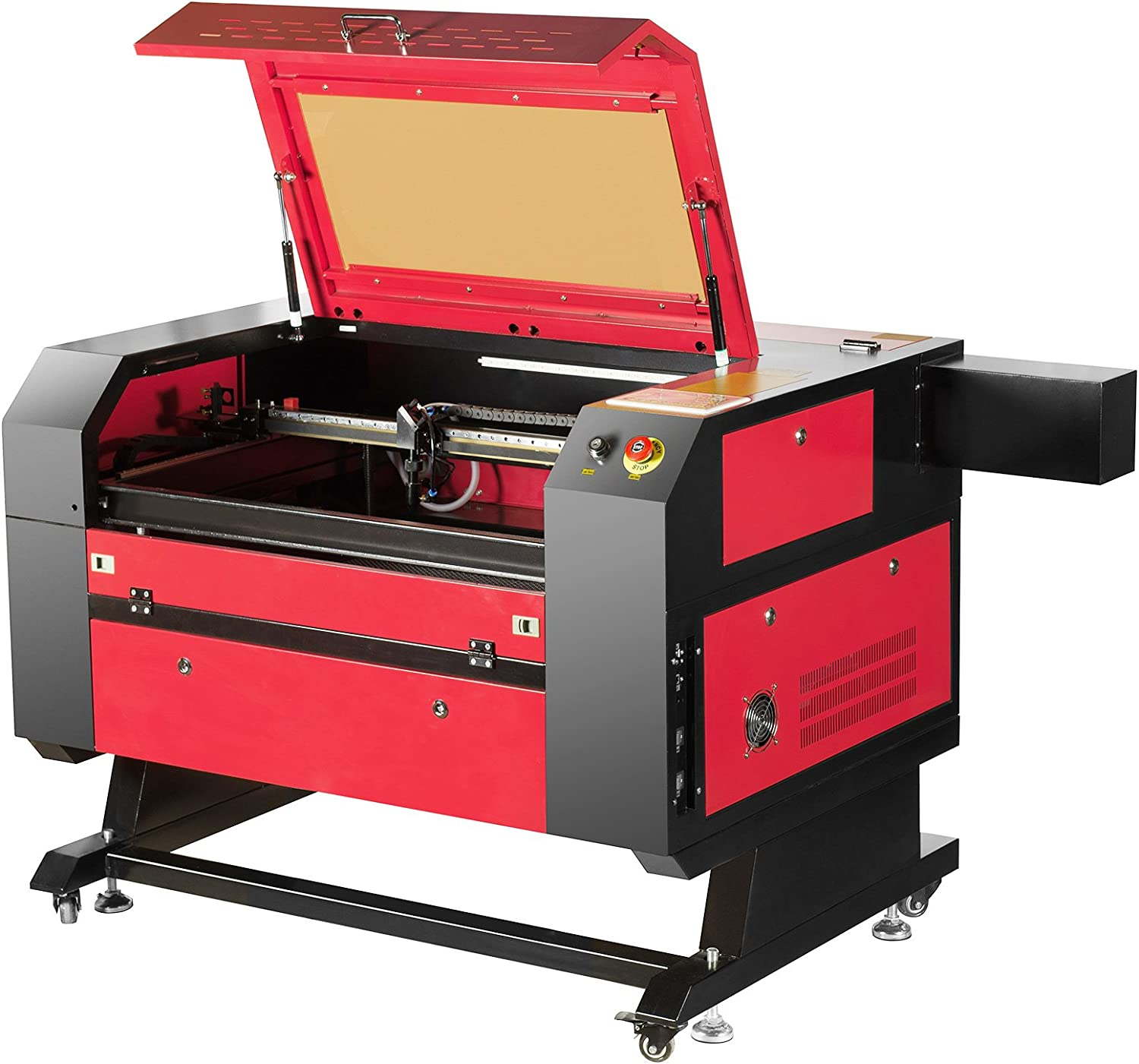 Orion Motor Tech 80W CO2 Laser Engraving Cutting Machine