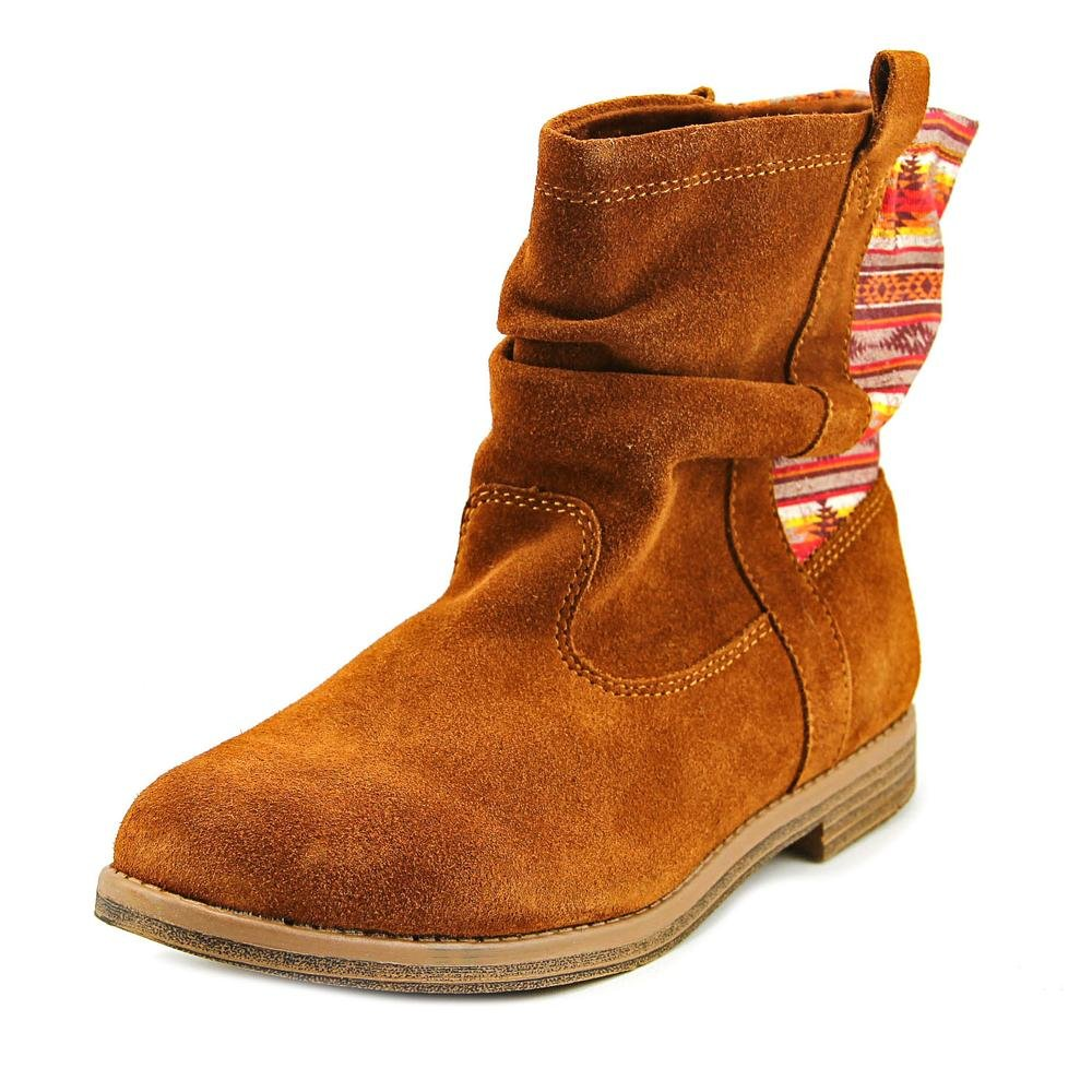 Toms Kids Cinnamon Suede Youth Laurel Boot 10009122 (SIZE: 3)
