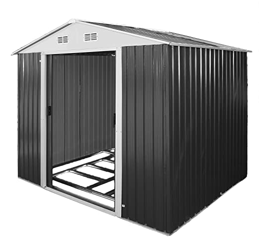 TronicXL - Cobertizo de Metal para Herramientas de jardín, con ...