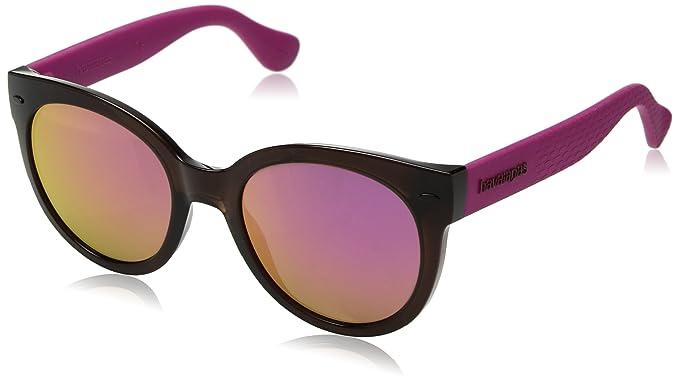 Havaianas Damen Sonnenbrille » NORONHA/M«, schwarz, O9N/VQ - schwarz/rosa