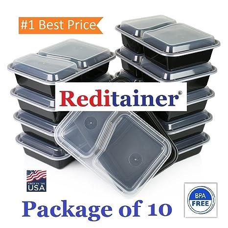 Amazon.com: Reditainer – rectangular contenedores de ...