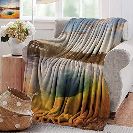 Miraculous Amazon Com Soft Cozy Throw Blanket Yellowstone Decor Gmtry Best Dining Table And Chair Ideas Images Gmtryco