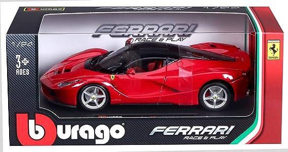 Ferrari Race /& Play Enzo Ferrari Bburago Scala 1:24 Modellino Auto