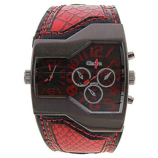 Reloj de hombre - Oulm Reloj de deportes Reloj del estudiante Reloj de hombres militar con