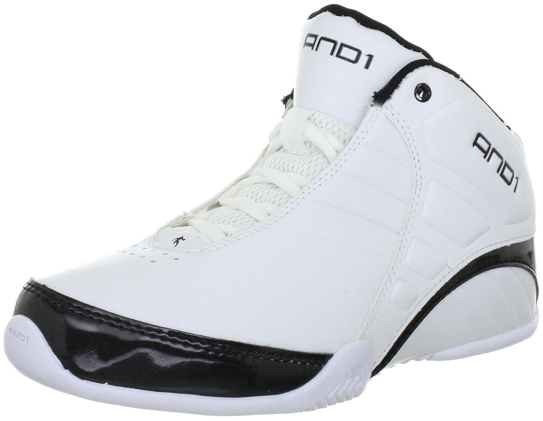 AND1 Rocket 3.0 Mid 1001203057, Scarpe da Basket unisex adulto, Bianco  (Weiss (White/White/Black)), 40: Amazon.it: Scarpe e borse