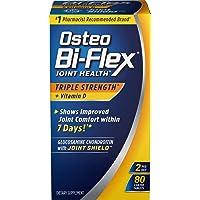 Triple Strength Glucosamine Chondroitin and Vitamin D by Osteo Bi-Flex, Supprts...
