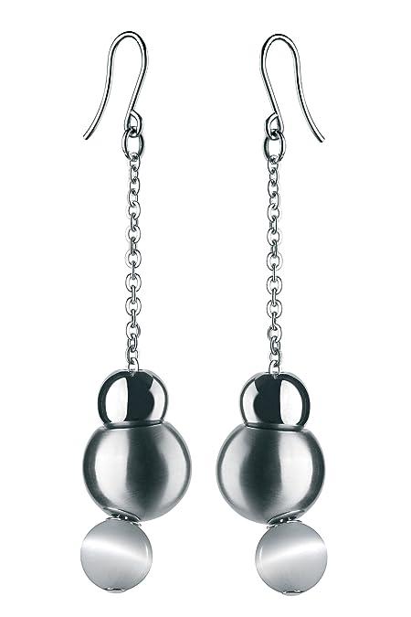 vendite speciali guarda bene le scarpe in vendita outlet online Breil - Orecchini pendenti da donna con quarzo, acciaio inossidabile, 75  mm, cod. TJ0917