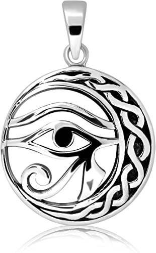 6 Grams Sterling Silver 925  Eye  Of  Ra   Pendant ! Brand  New  !!