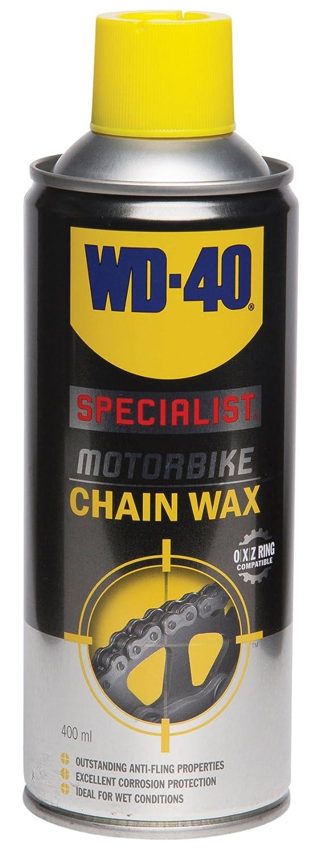 WD-40 Specialist Motorbike Chain Wax - 400ml WD-40 Company 44143