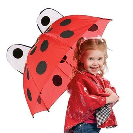 Paraguas Infantil Mariquita