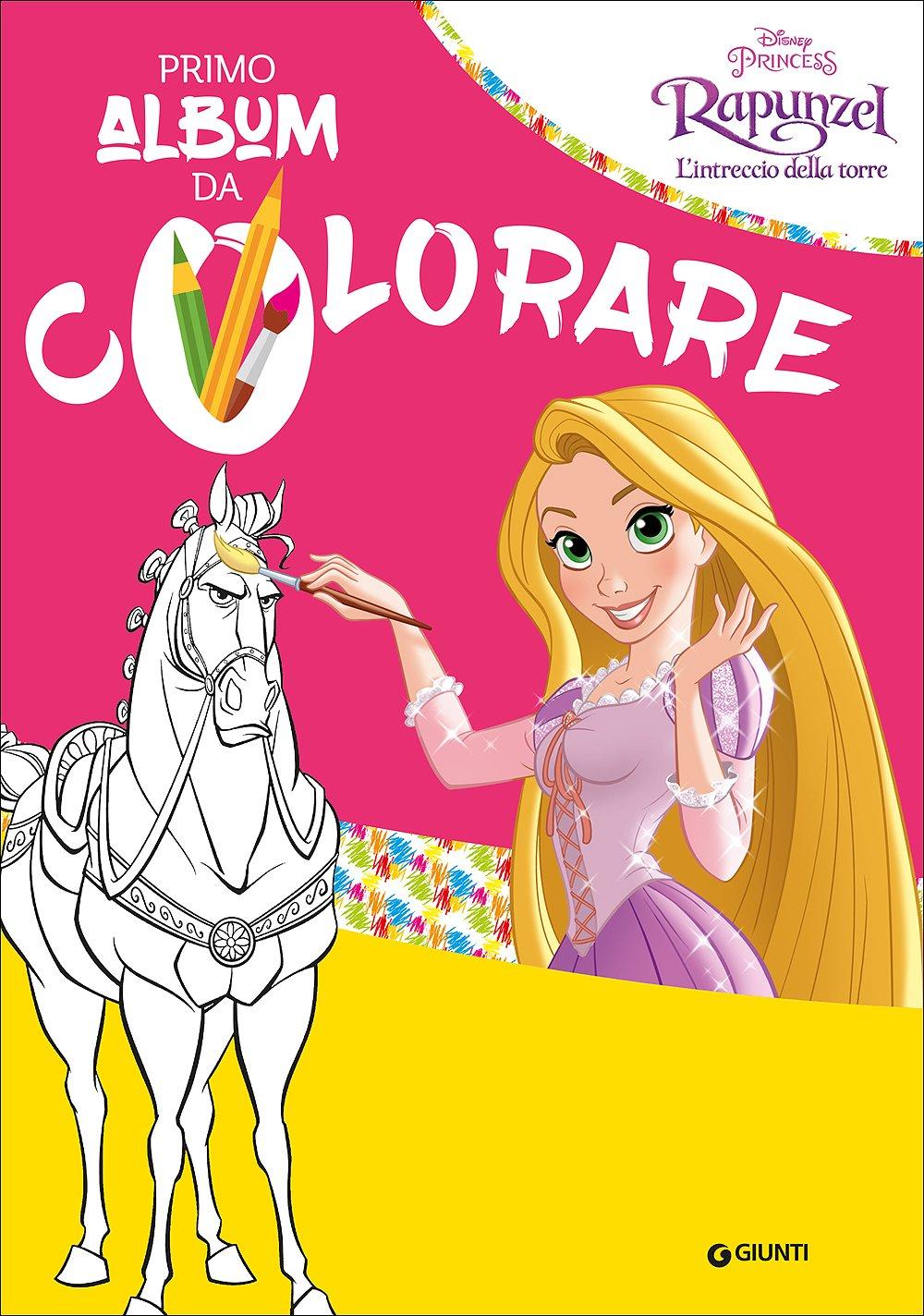 Amazon It Rapunzel Il Mio Primo Album Da Colorare Walt Disney