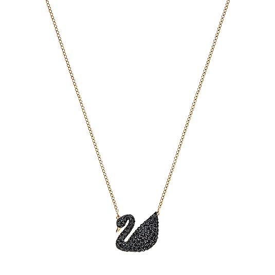 Amazon.com  Swarovski Iconic Swan Pendant  Swarovski  Jewelry f0cdab07d4f