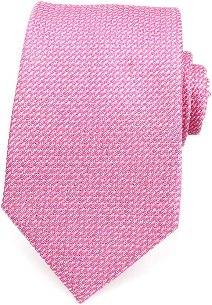 Awesome 360 Mens Casual Ties 100/% Silk Classic Business Checkered Formal Woven Stain Modern Neckties-3.1 Width