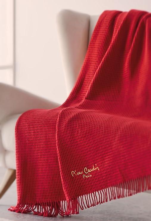 Manta Sofa Plaid Pierre Cardin 900 FABRICADO EN ESPAÑA: Amazon.es: Hogar