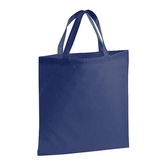 Jassz Bags - Bolsa shopper de tela con asas cortas (Talla ...