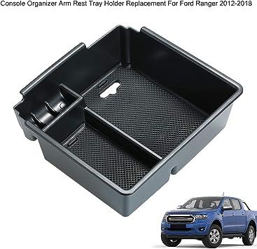 Kkmoon Auto Armlehne Aufbewahrungsbox Mittelkonsole Organizer Mittelkonsole Container Ersatz Für Ford Ranger 2012 2018 Auto