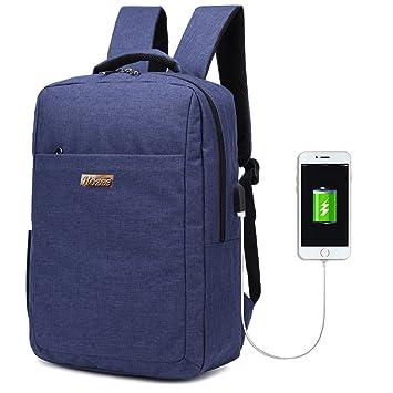 Hozee Unisex Impermeable Mochila Ordenador Backpack For Laptop up to 15.6 inch, Mochilas universitarias hombre /camping Mochila /Senderismo Bolsa de viaje ...