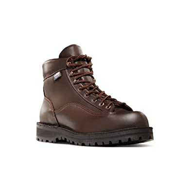 "Danner Men's Explorer 6"" Boot Brown 9 D & Knit Cap Bundle"