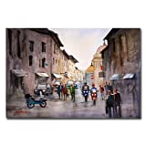 When in Rome by Ryan Radke, 30x47-Inch Canvas