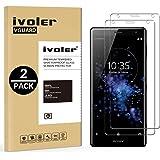 iVoler [2 Pack Pellicola Vetro Temperato Sony Xperia XZ2 [Garanzia a Vita], Pellicola Protettiva, Protezione per Schermo