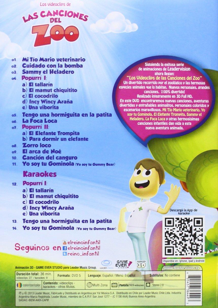 Amazon.com: Las Canciones Del Zoo / Various: Las Canciones ...