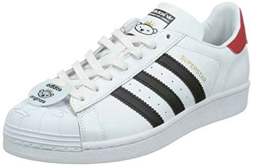 adidas Sneaker Superstar NIGO Bearf Bianco/Nero EU 44 (UK 9.5)