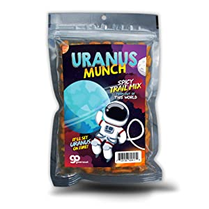 Uranus Munch - Uncle Frank's Premium Spicy Trail Mix - Edible Gifts for Teens - Spicy Mix - Made in the USA