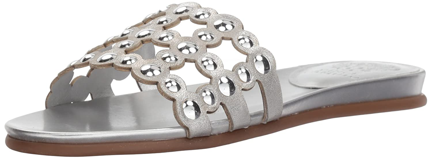 Vince Camuto Women's Ellanna Slide Sandal B075FQXXGY 11 B(M) US|Gleaming Silver